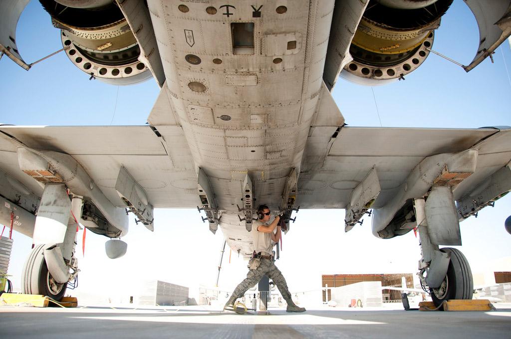 A-10-USAF-Underside