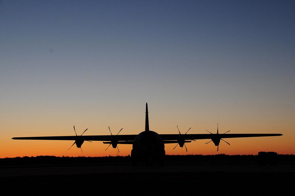 C-130-on-Tarmac-USAF